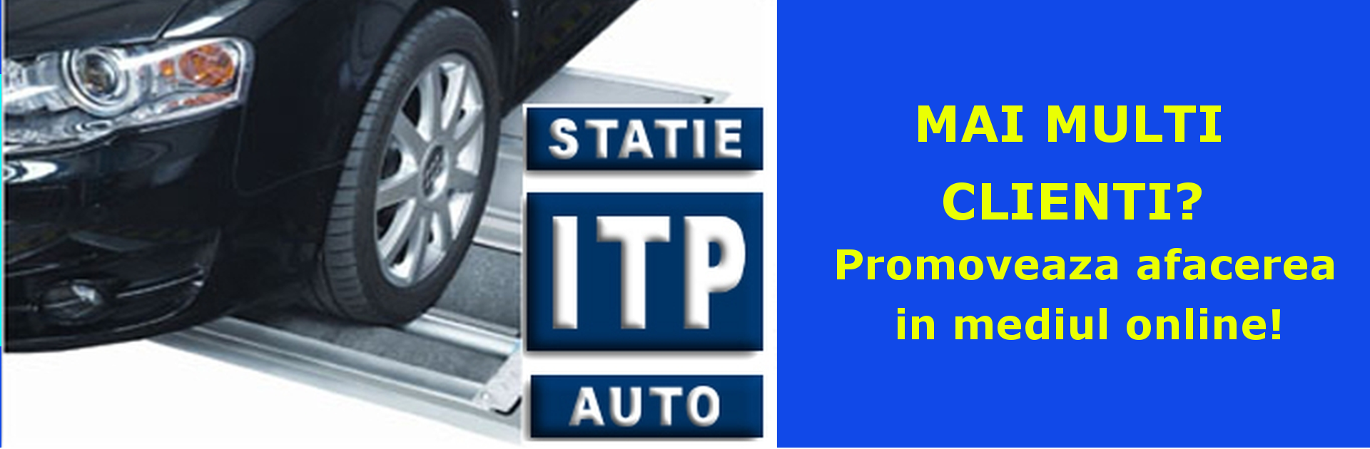 Reclama ITP banner