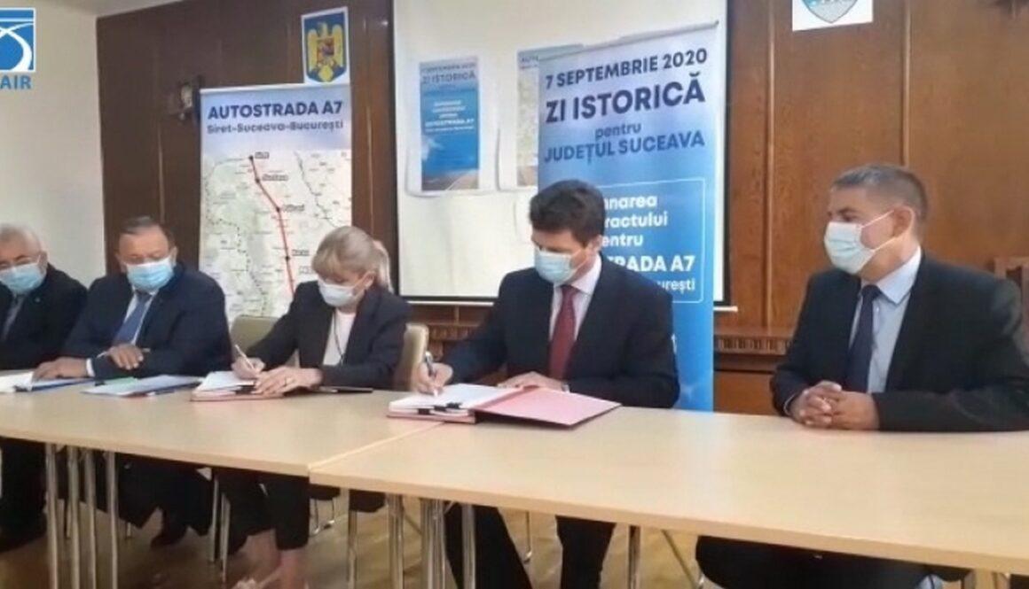semnare SF+PT DX Pascani - Suceava - Siret