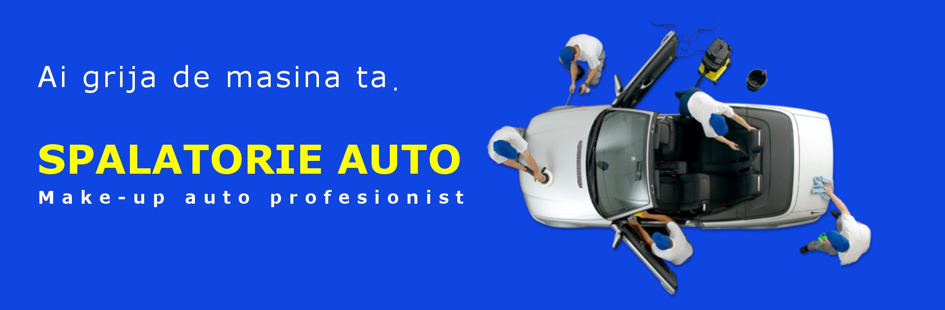 Banner pagina spalatorie auto