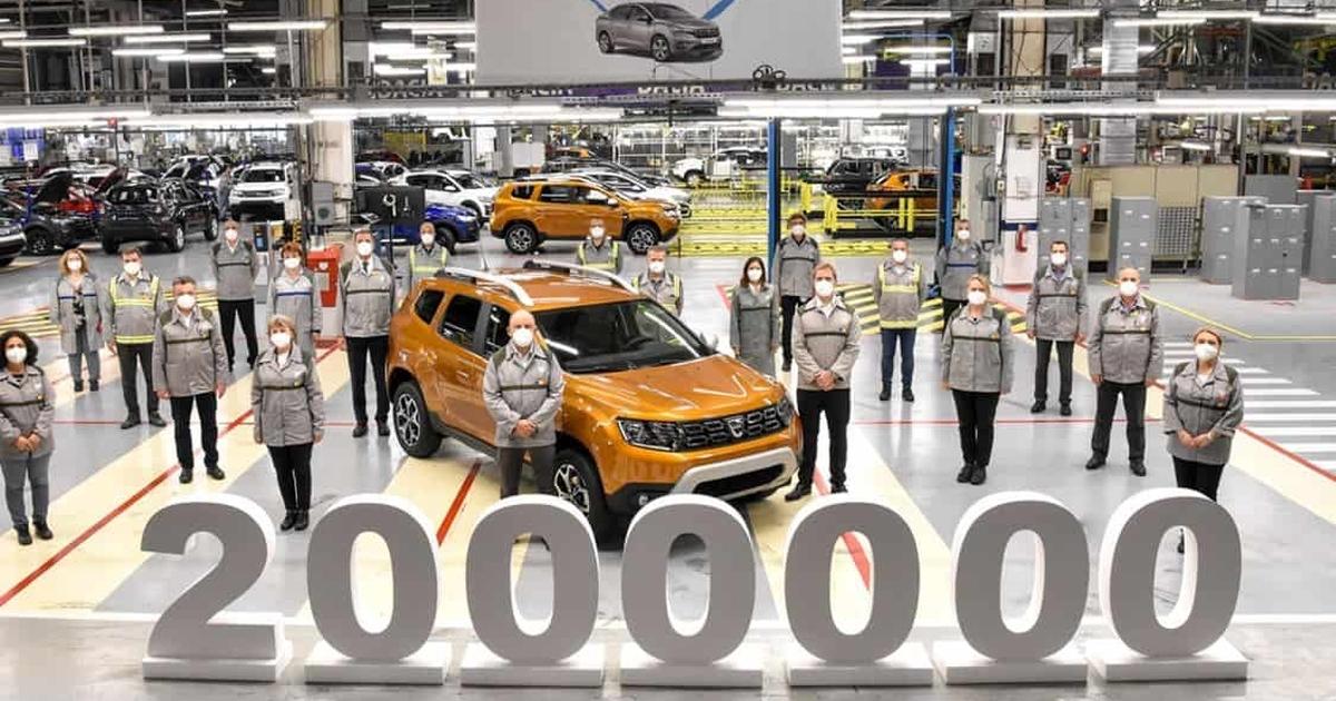 Dacia Duster 2 milioane de unitati