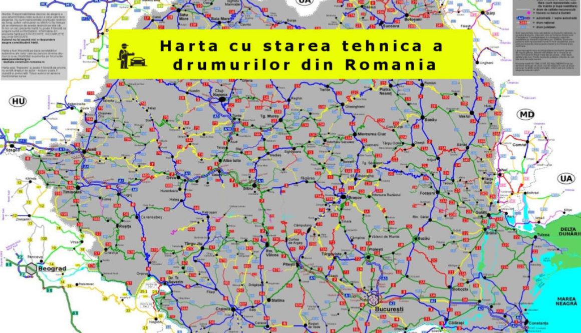 Romania-harta-drumuri-stare