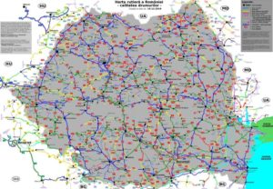 harta-drumuri-Romania-stare