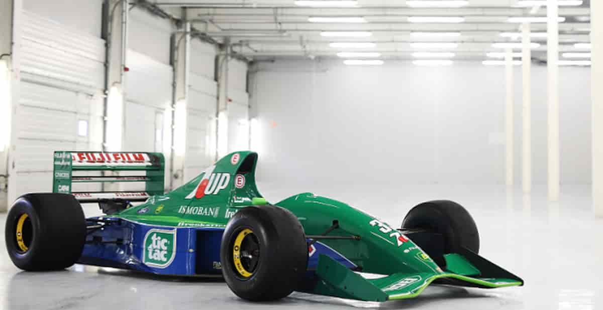 Jordan 191- Michael Schumacher